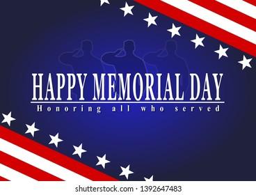 Happy memorial day usa, veterans day