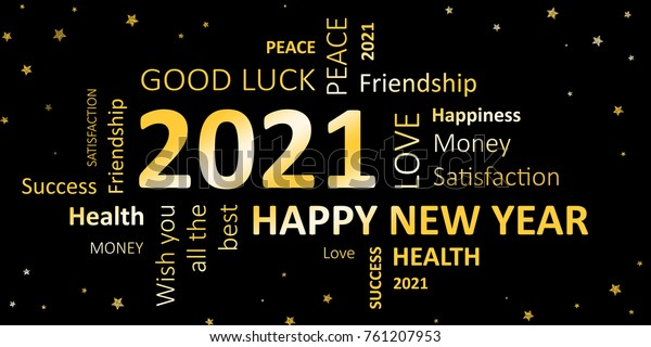 happy new year 2021 greeting card stock illustration 761207953 https www shutterstock com image illustration happy new year 2021 greeting card 761207953