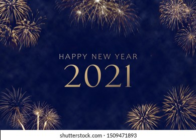 Happy New Year 2021 Silvester Card
