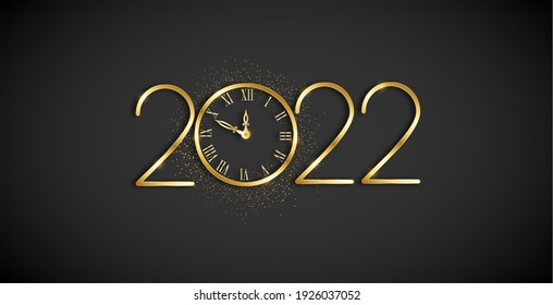 Happy new Year 2022m Greeting Card