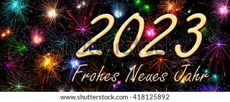 happy new year 2023 in german