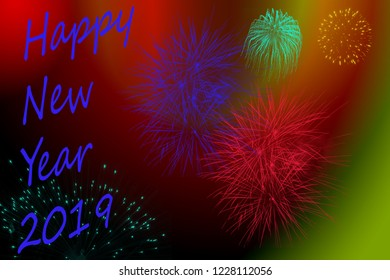 Happy New Year Background for a nice greeting card