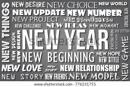 Royalty Free Stock Illustration Of Happy New Year Greeting