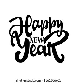 Happy New Year. Poster for your design.