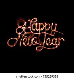 Happy New Year Type