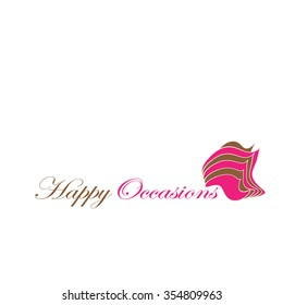 Happy Occasions logo template