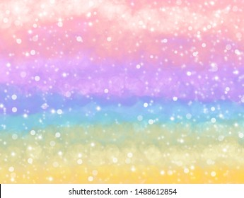 Happy pastel glitter background for holiday.  Elegant vintage abstract. De-focused