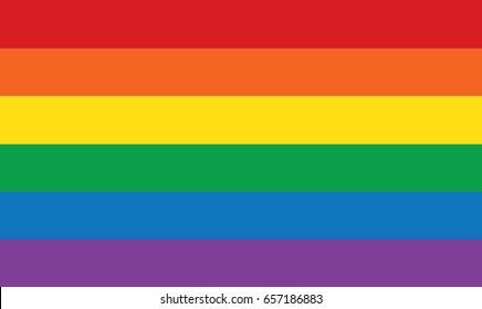 Happy pride LGBTQ background. rainbow gradient mesh blur background.