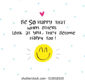 Happy Quote Images Stock Photos Vectors Shutterstock