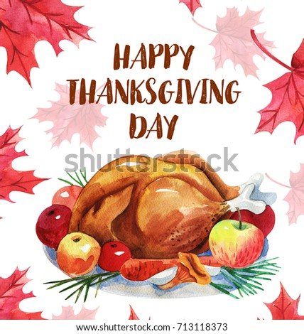 Royalty free stock illustration of happy thanksgiving greeting card happy thanksgiving greeting card with turkey and letteringnadian traditional holiday m4hsunfo
