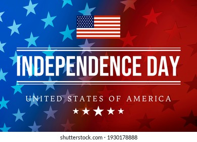 Happy USA Independence Day Fourth of July background