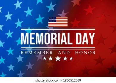 Happy USA Memorial Day background