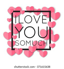 i love you so much images stock photos vectors shutterstock