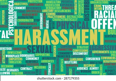 Harassment in its Many Forms and Types