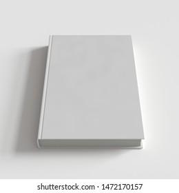 Hardcover Book Mockup. 3d render