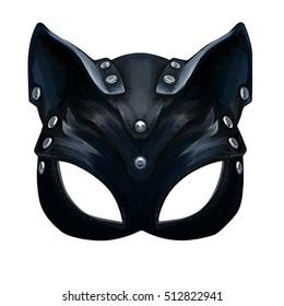 hat cat ladies leather