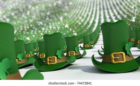 Hats for the St. Patrick's Day.