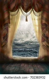 Haunted room and the sea