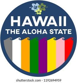 hawaii: the aloha state | digital badge