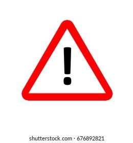 Hazard warning attention