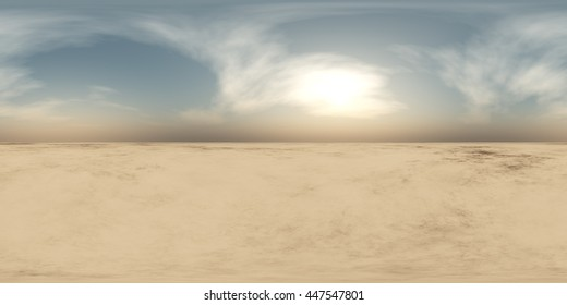 HDRI Map,  environment map, Round panorama, spherical panorama, equidistant projection, panoramic, 3D rendering, land under heaven