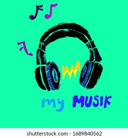 Headset, musik every time, musik everywhere
