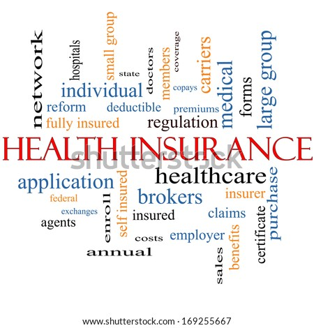 health insurance word cloud concept greatのイラスト素材 169255667