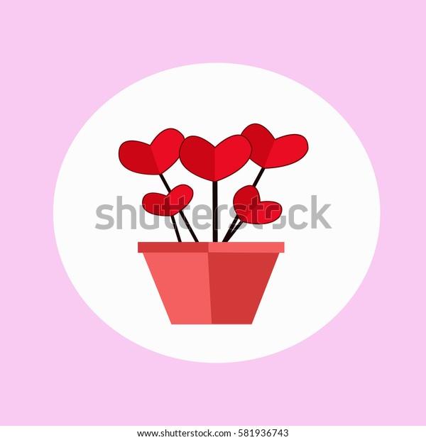 Heart bouquet.