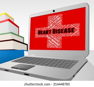 Heart Disease Showing Chf Attack And Diseases