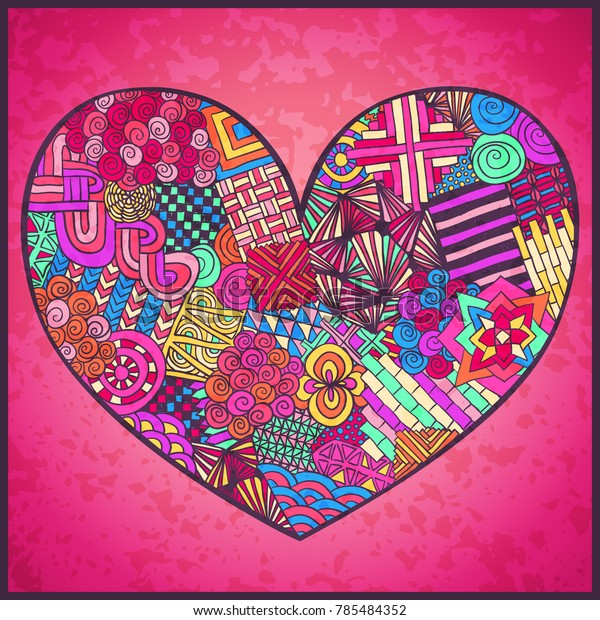 Zentangle for kids - Zentangle Kids Coloring Pages | 620x600