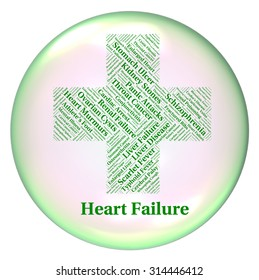Heart Failure Meaning Ill Health And Infections