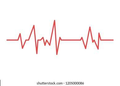 Heart line. cardiogram health medical heartbeat pulse.