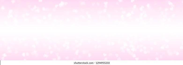 Heart shape Valentine day background