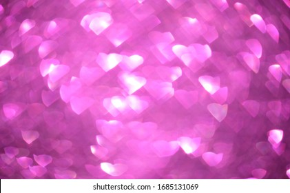 heart star bokeh light abstract background and glitter vintage lights background