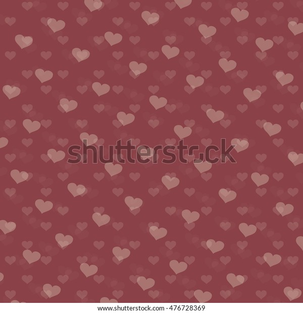 Ilustración De Stock Sobre Hearts Background Love Wallpaper