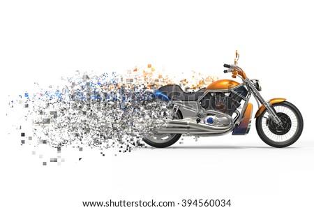 Heavy bike disintegration FX