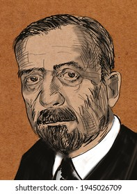 Heinrich Mann (born 1871) is a German prose writer and public figure, older brother of Thomas Mann.