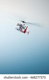 Helicopter, 3D illustration