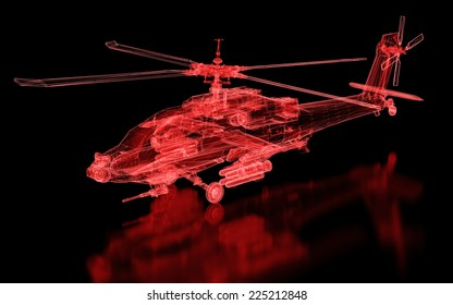 Helicopter Mesh. Part of a series.