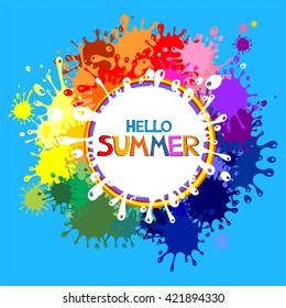 Hello Summer! Illustration