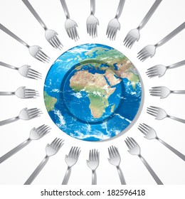 help Africa feed the world Elements of this image furnished by NASA