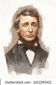 Henry David Thoreau was an American essayist, poet, and philosopher. A leading transcendentalist