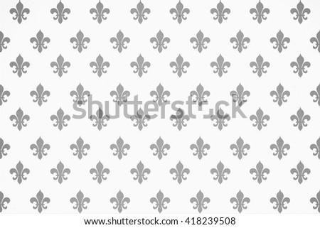 Fleur Illustration heraldic seamless wallpapers fleur de lis stock illustration
