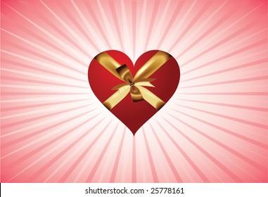Here is heart in present design