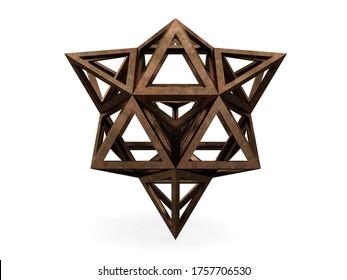 Hexaedron apotetmimenon Epirmenon Cenon, 3D model