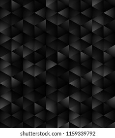 Hexagon structure geometric seamless pattern