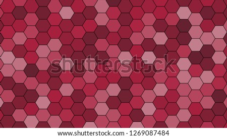 Hexagonal grid pattern with