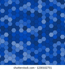 Hexagonal pattern / grid. Color: Absolute Zero.