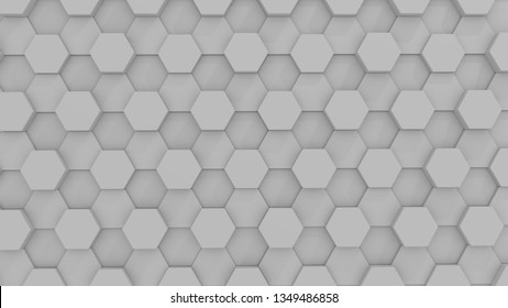 Hexgon Background Picture - 3D Animated
