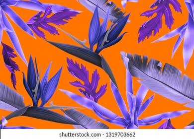 Hi quality fashion design. Fresh and unique botanical background